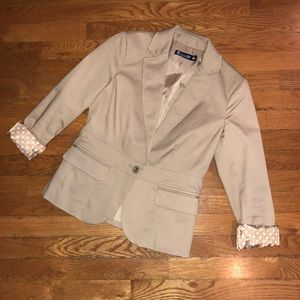 7th Ave Design Studio Single Button Blazer